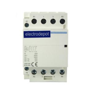 ElectroDepot Contactor 2P NO 2P NC 63A 120VAC
