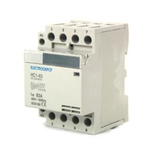 Contactor 4P NO 63A 120V