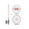 "Migro Professional Antenna 34"" Omni-Directional 433 MHz 433MHz 420, 440, 450, 470 MHz 5 dBi UHF Bas"