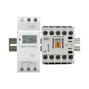 ElectroDepot 7 Day 24 Hour Programmable Timer 20A 3 Pole 12VDC