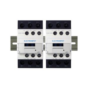 ElectroDepot Contactor 6 Pole NO 50A 120VAC