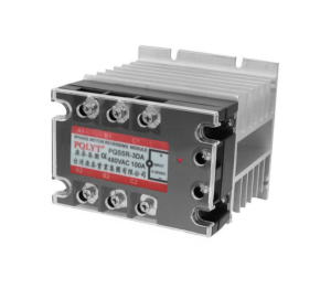 Solid State Contactor 3 Pole 100A 5-24VDC